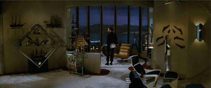 Kirk's Apartment, Wrath of Kahn