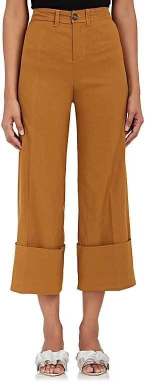 Sea Women's Cotton-Blend Crop Cuffed Pants