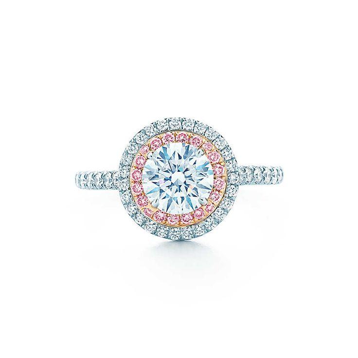 Tiffany Soleste Round Anillos de Compromiso | Tiffany & Co.