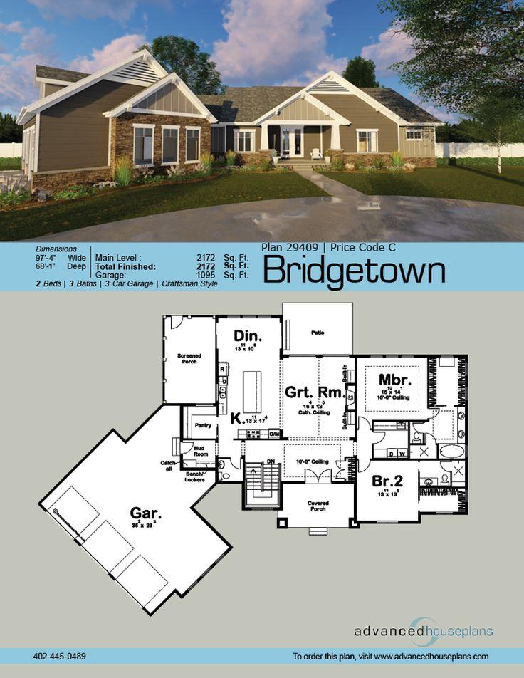 32 best Craftsman images on Pinterest   Craftsman home plans ...