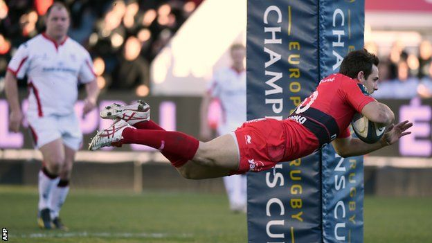 European Champions Cup: Toulon 60-22 Ulster