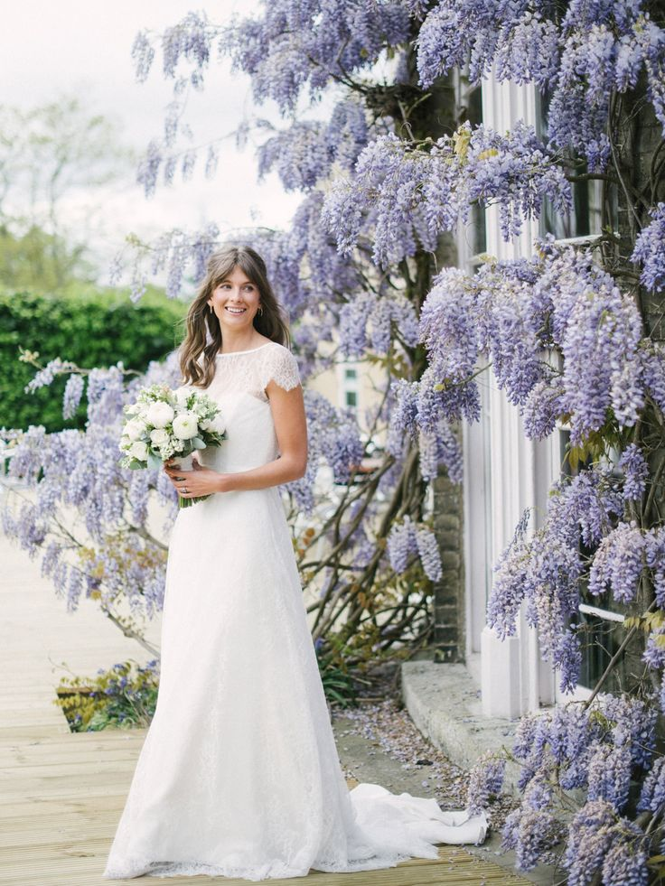 Awesome Bride in Naomi Neoh Wedding Dress For An Intimate Wedding At The Felix Hotel With Wisteria
