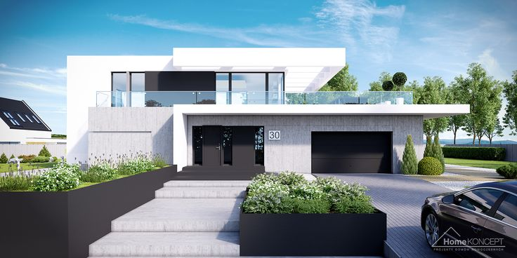 Wszystkie projekty : Projekt domu HomeKoncept-30