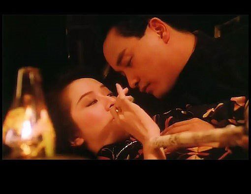 Hong Kong movie Rouge starring Anita Mui and Leslie Cheung