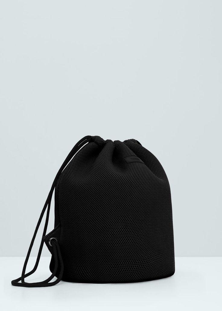 Net backpack - Bags for Women | MANGO USA
