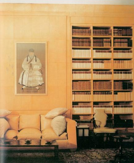 Frances Elkins Interior With Jean Michel Frank Furniture