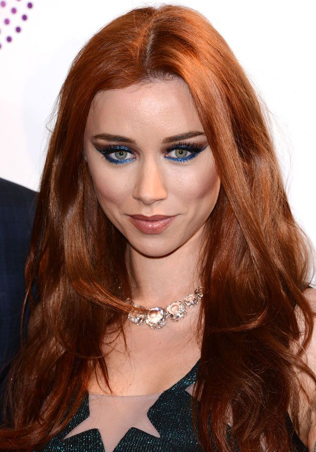 Una Healy showcased a stunning, blue eye make-up look at the Sony Radio Academy Awards