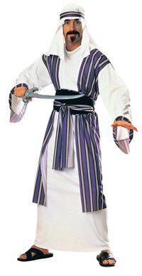 Adult Arabian Desert Prince Costume - Arabian Costumes
