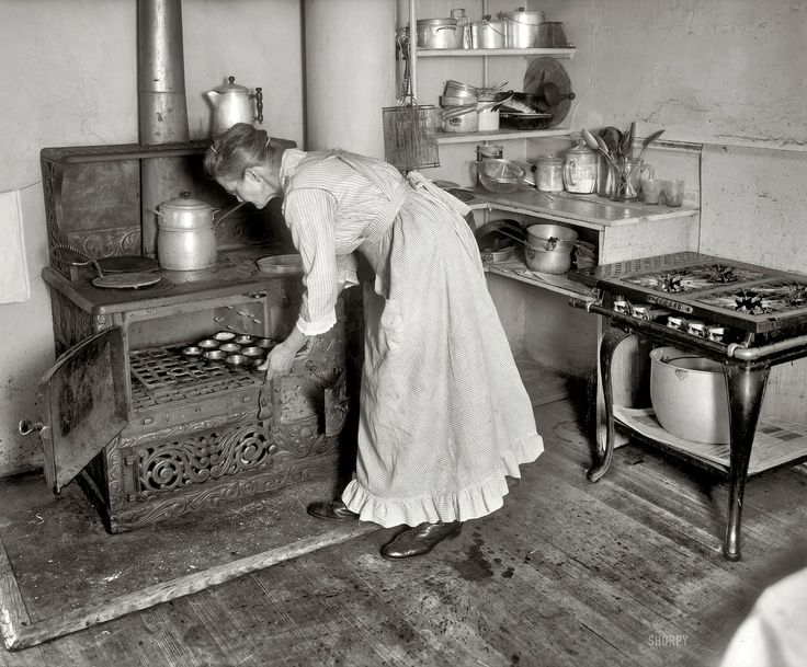 Washington, D.C., circa 1917 and Mrs. Beuchert . Why this lady's muffin-making would have been chronicled in the archives of the Natio...