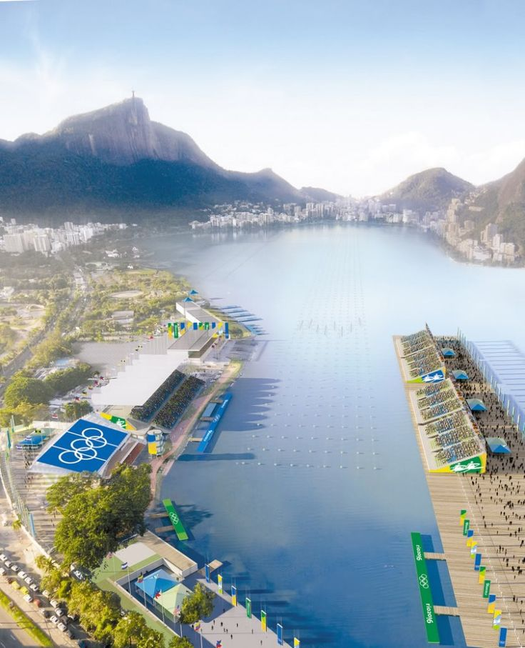 Architectural Vision Of Rio De Janeiro Olympic City 2016