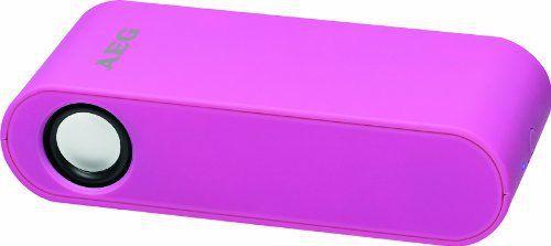 AEG LBI 4719 Enceintes PC / Stations MP3: Haut-parleur stéréo AEG à induction sans fil LBI 4719 (rose) Système de haut-parleur pour une…