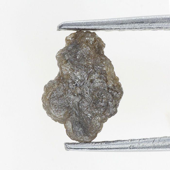 1.71 Ct Natural Diamond Raw Rough Natural Shape Reddish Color
