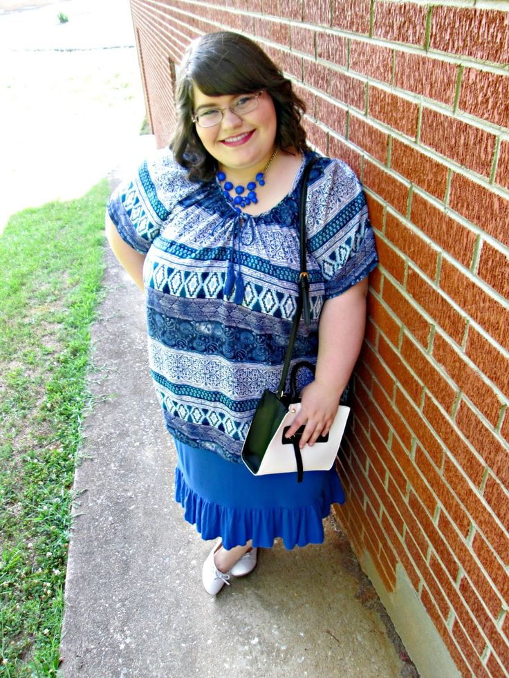 Unique Geek: Plus Size OOTD: Summer Vibes #plussizefashionblogger #plussizeoutfit #churchoutfit #plussizebohemian
