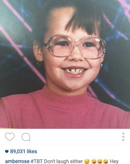 TORYHOUSE: Check out what Amber Rose looked like as a kid