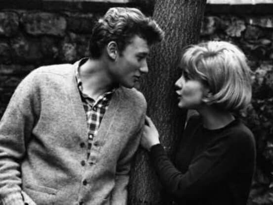 Jonny Haliday i Silvie Vartan.