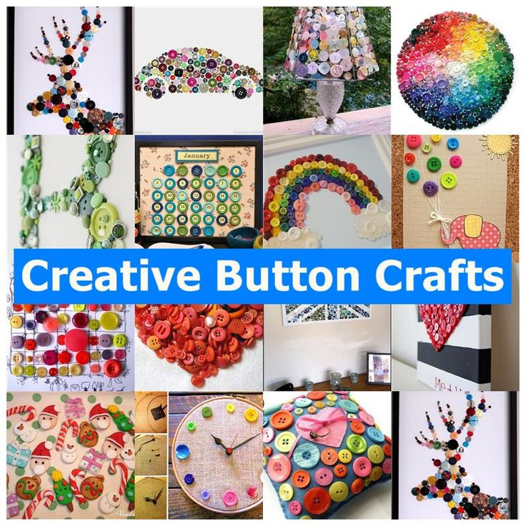 17 best images about buttons on pinterest trees crafts for Creative crafts to do