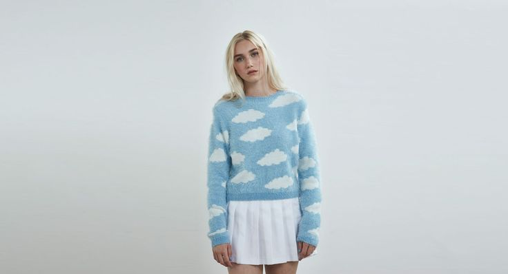 Lazy Oaf Fluffy Cloud Jumper