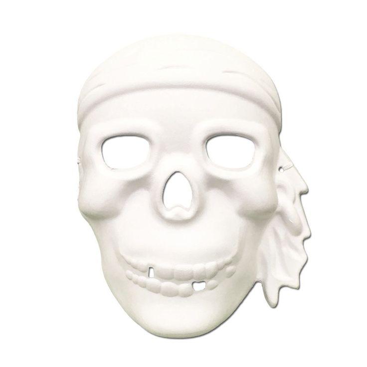 Masquerade Mask - DIY Masquerade Mask - Pirate