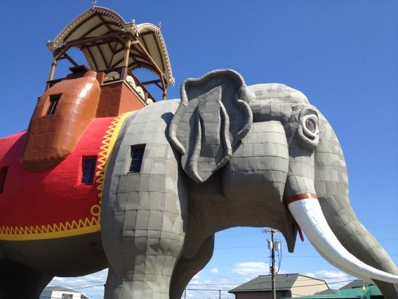 Lucy the Elephant, the beach, an aquarium and so much more!  Read all about what to do in Atlantic City With Kids