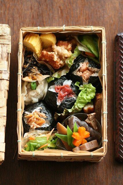 日本人のごはん/お弁当 Japanese box lunch, Bento