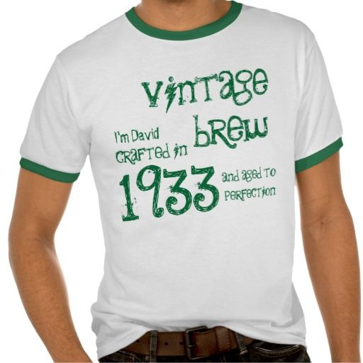 Big Save on 80th Birthday Gift 1933 Vintage Brew Name For ...