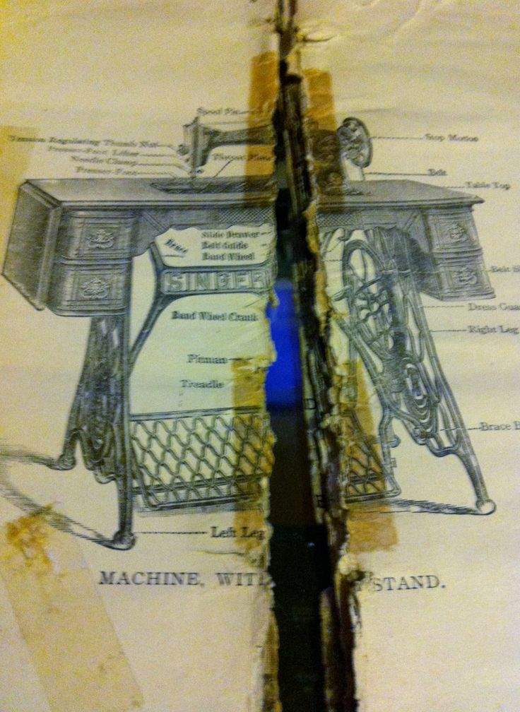 treadle sewing machine manuals