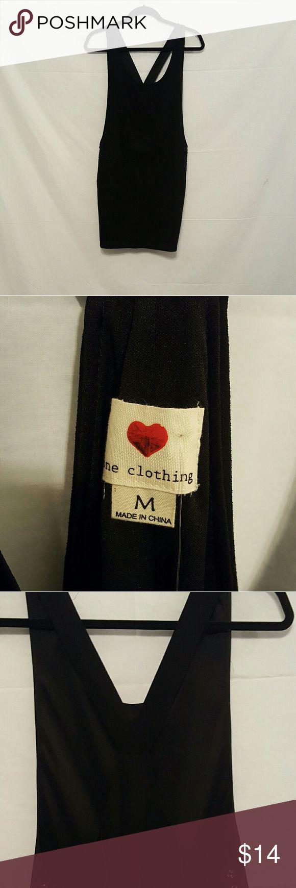One Clothing Jumper Dress BNWT Size medium  Brand New With Tags  One clothing black jumper dress one clothing Dresses