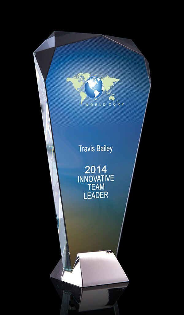 Produce a personal award that highlights your greatest achievements.
