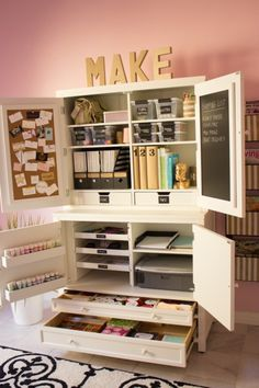 Are you crafty but cramped with no place to store your supplies? You're not going to believe these dream craft rooms!