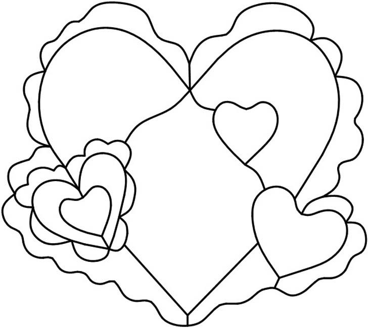 valentines stained glass coloring pages - photo#1