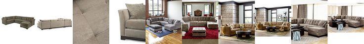 Elliot Fabric Microfiber 3-Piece Chaise Sectional Sofa