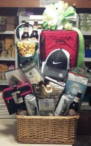 Custom Golf Gift Basket