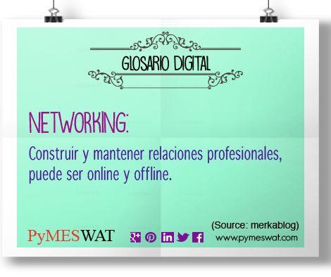 #GloariosDigital El #networking es construir y mantener relaciones profesionales, puede ser #online y offline