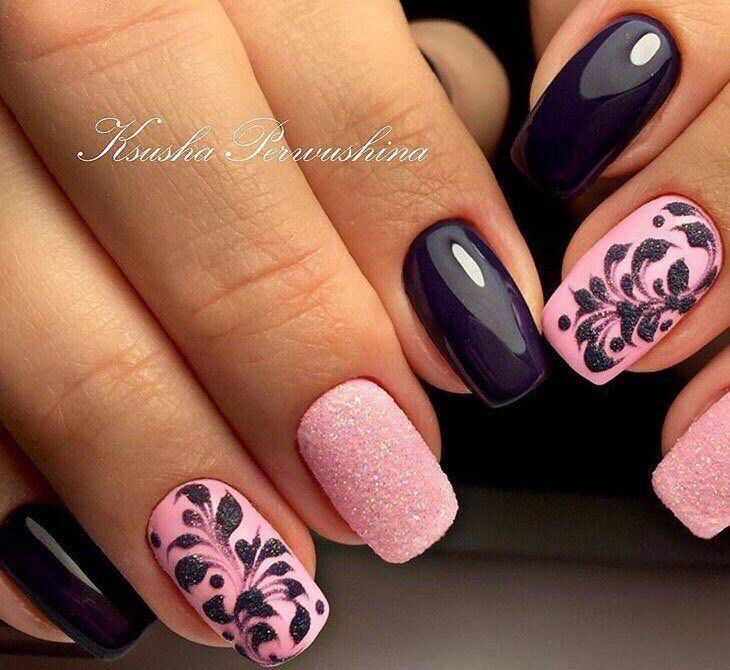 58 best ногти images on Pinterest | Nail design, Cute nails and Nail ...