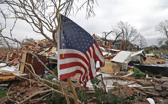 Tornadoes touch down across East Texas