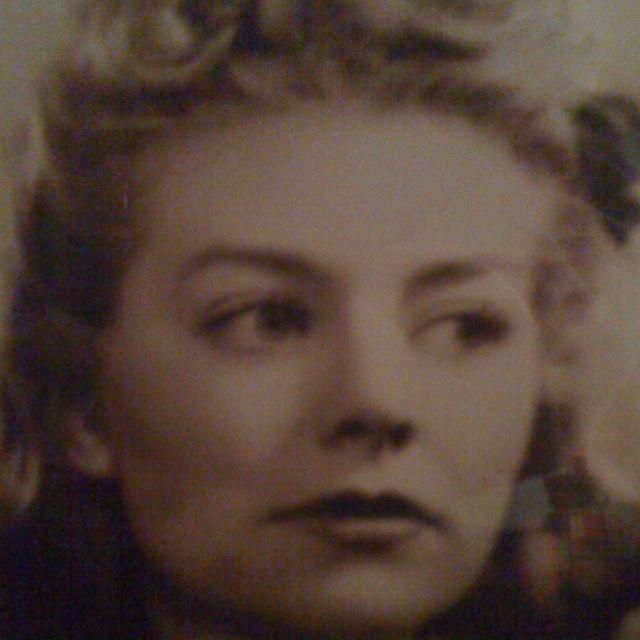 My film star mom!