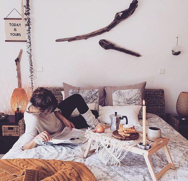 Fall cozy room decor