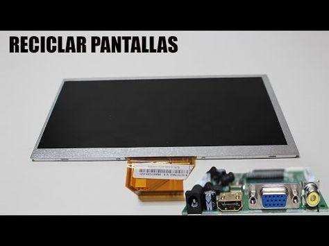 COMO RECICLAR UNA PANTALLA DE PORTATIL - YouTube