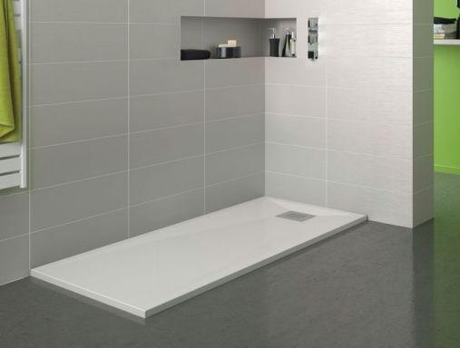 Plato de ducha extraplano de 3cm espesor y dimensiones 120x70cm, fabricado en…