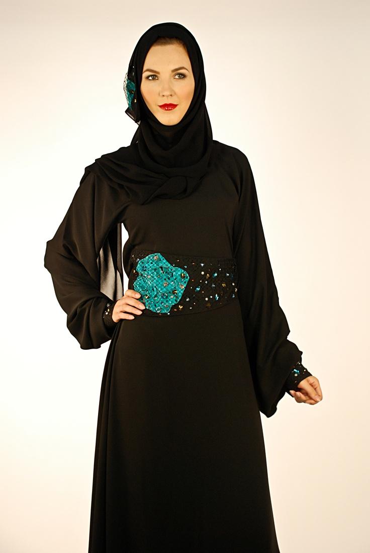 Arwa'a Abaya 4 - Al Anoud's first abaya design!