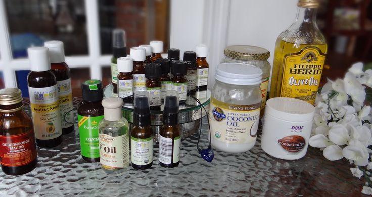 Моя коллекция масел / essential oils