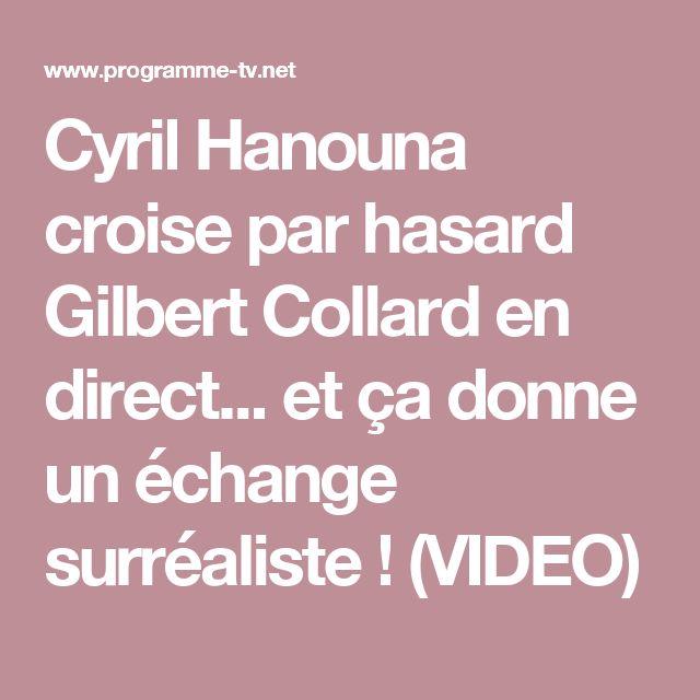 Cyril Hanouna croise par hasard Gilbert Collard en direct... et ça donne un échange surréaliste !  (VIDEO)