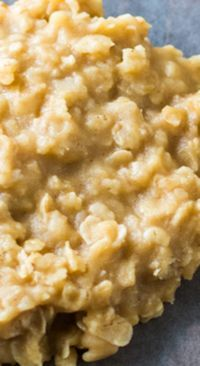 Peanut Butter No-Bake Cookies ~ So yummy!