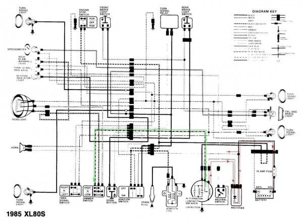 Honda Wave 100 Motorcycle Wiring Diagram