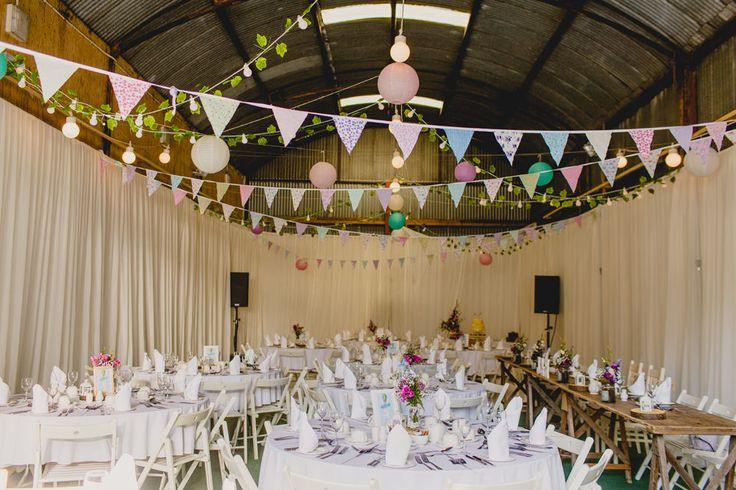 Bunting Wedding Decor | Navyblur Photography | Cinematic Tide Films