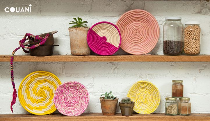 COUANI catalogue 2014 // perfect pink hues couani woven bowls // www.couani.com.au