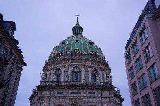 Copenhagen - Frederiks Kirke Dome