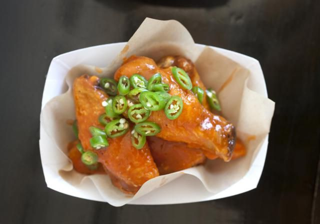 This is the classic Buffalo chicken wing sauce recipe. The Buffalo chicken wing was invented at the Anchor Bar in Buffalo, New York.