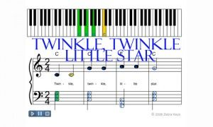 how to learn twinkle little star on guitar