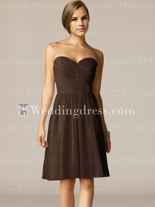 We offer a large variety of strapless bridesmaid dress at some of the best prices available online.